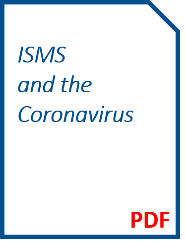 Your ISMS and the Coronavirus