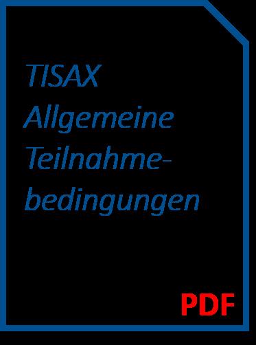 TISAX Allgemeine Teilnahmebedingungen